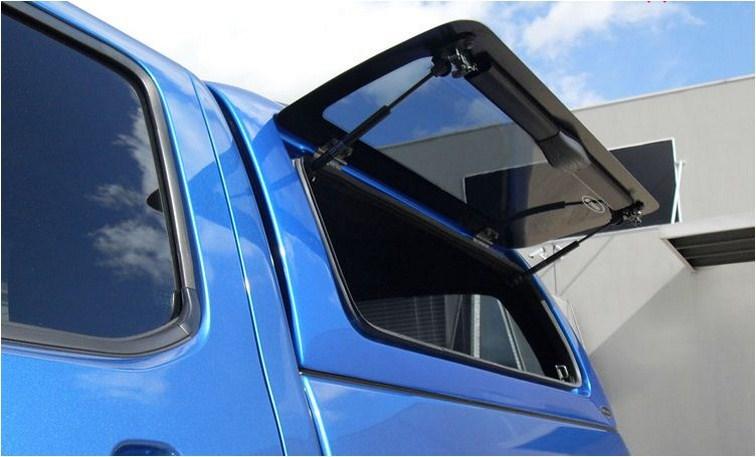 CARRYBOY Hardtop aus GFK mit rahmenlosen Klappfenstern sehr stabil Ford Ranger Doppelkabine