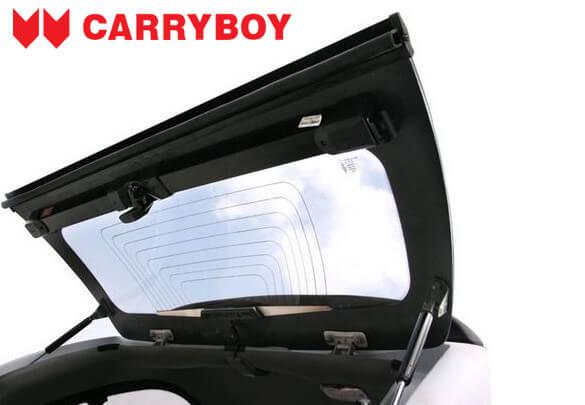 CARRYBOY Hardtop mit Schiebefenster für Ford Ranger Einzelkabine Singlecab schließt Laderaum ab Heckscheibenheizung
