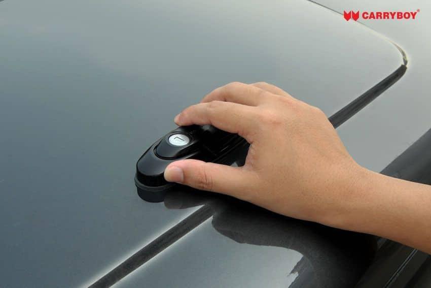 CARRYBOY Pickup Laderaumabdeckung Deckel mit Edelstahlbügel GRX sicher abschließbar