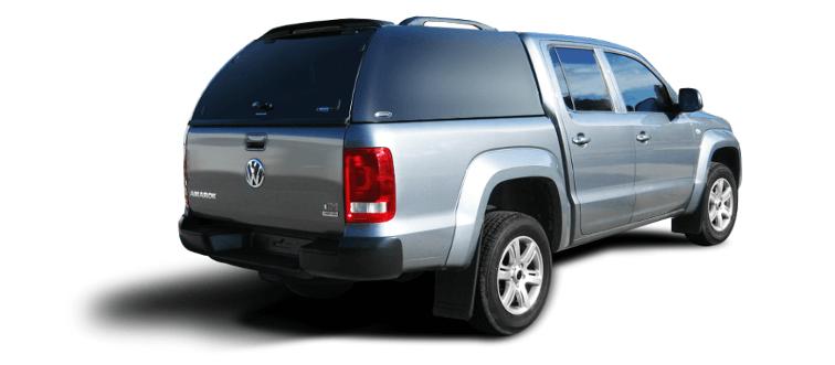 CARRYBOY Hardtop ohne Seitenfenster VW Amarok Doppelkabine Gewerbehardtop