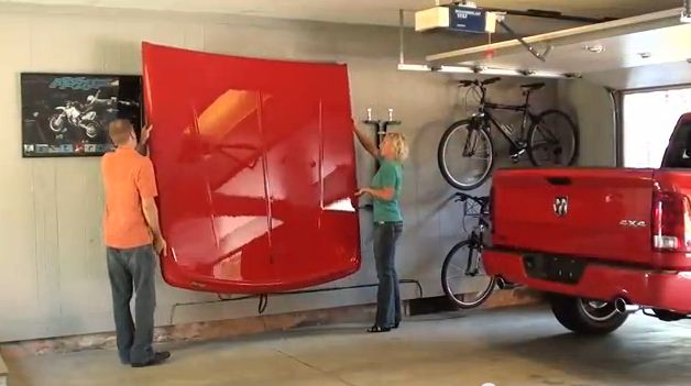 NOVISauto Laderaumabdeckung LUX - Fest zum Hochklappen - UCTT07