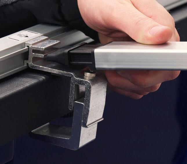 NOVISauto Laderaumabdeckung Plane zum Rollen Classic-Platinum  - Dodge