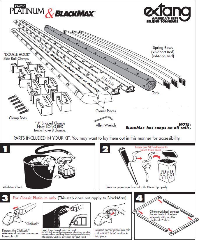 NOVISauto Laderaumabdeckung Plane zum Rollen BLACKMAX - FRD12