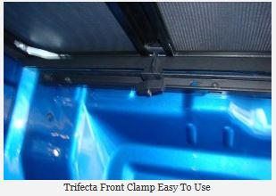 NOVISauto Laderaumabdeckung Plane zum Falten TRIFECTA - Toyota