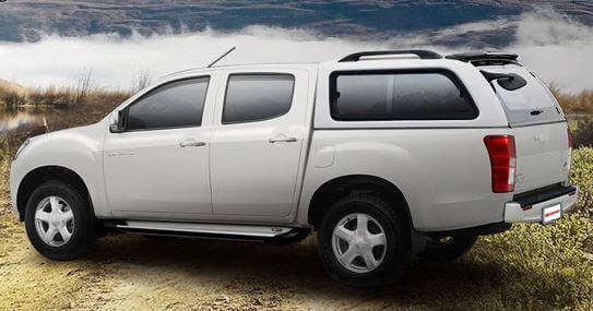 CARRYBOY Hardtop mit Schiebefenster 560-MTD Mitsubishi L200 Doppelkabine Kurzbett 2005-2015 Qualität und Design