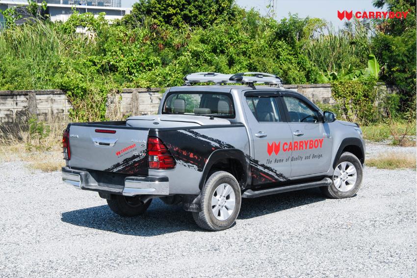 CARRYBOY Staubox für Pickup Ladefläche XXL Jumbobox Seitenöffnungen