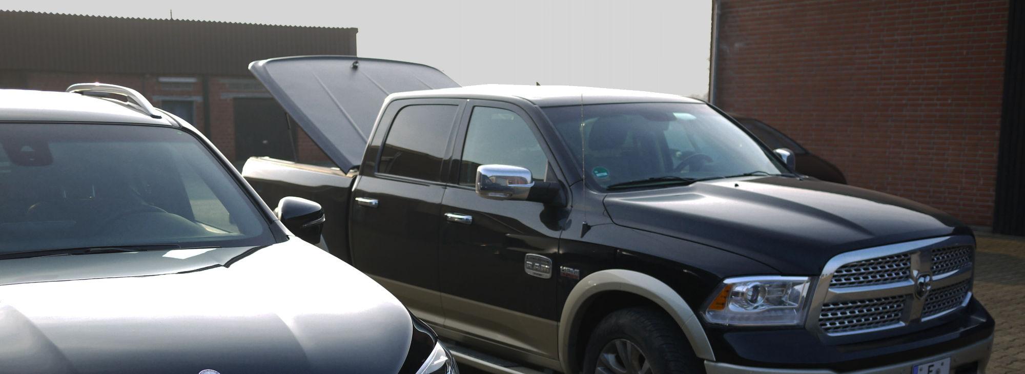 NOVISauto Laderaumabdeckung Deckel für Dodge RAM1500 Ford F150 Sierra Silverado Tundra
