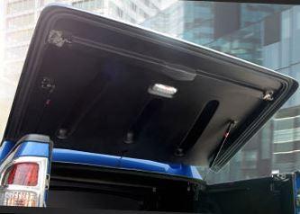 CARRYBOY Laderaumabdeckung mit Sportbügel Fullbox mattschwarz Toyota Hilux Vigo Doppelkabine 2005-2015