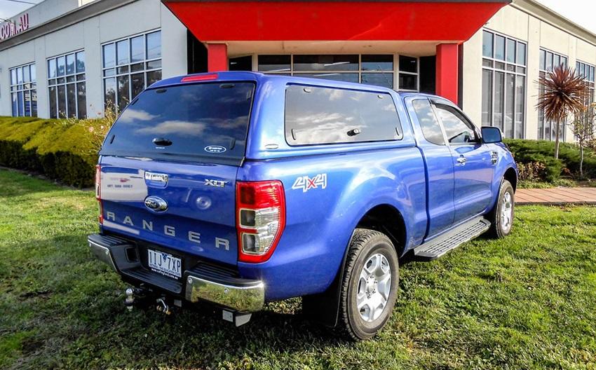 Ford Ranger Extrakabine Wildtrak Hardtop SON mit Glasklappen