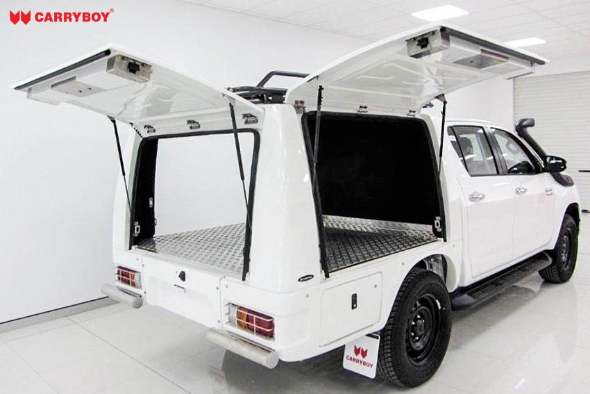 CARRYBOY Kofferaufbau Toyota Hilux Revo_Invincible Doppelkabine Karosserieumbau