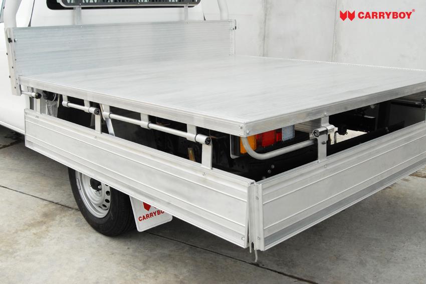 Carryboy FahrgestellaufbauEinzelkabine Pickup herunterklappbare Seitenwände