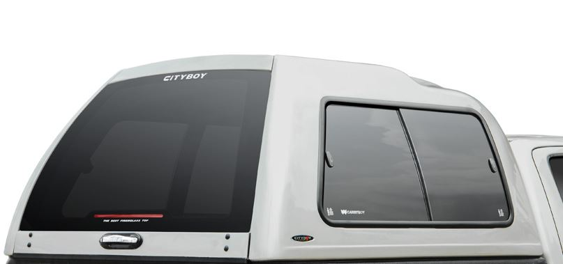 Carryboy Hardtop 840 in Übergröße für Toyota Hilux Vigo Doppelkabine | Heckklappe mit Heizung