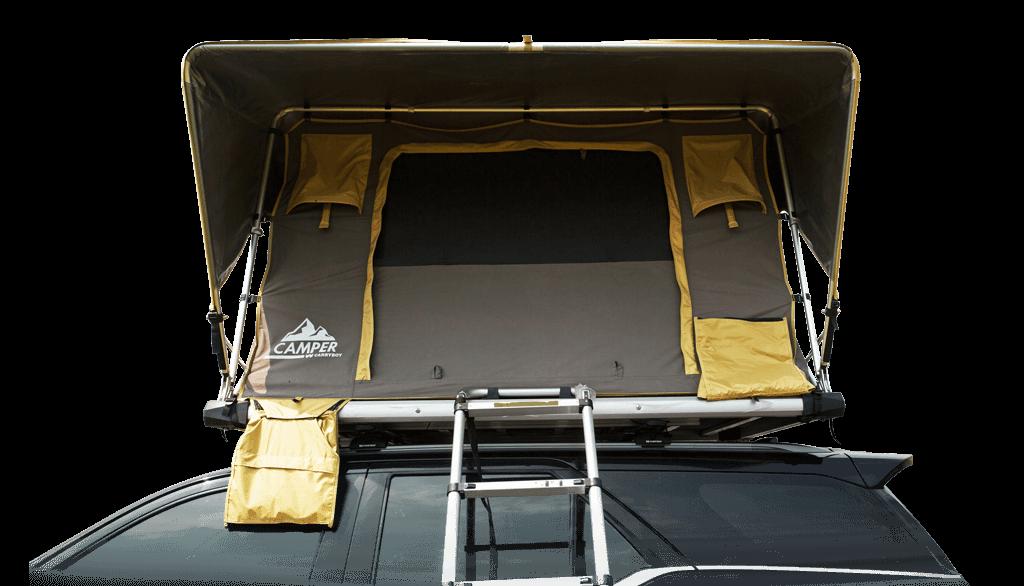 Carryboy Camper Dachzelt für 2 bis 3 Personen für alle Fahrzeuge mit Leiter zum Einstieg