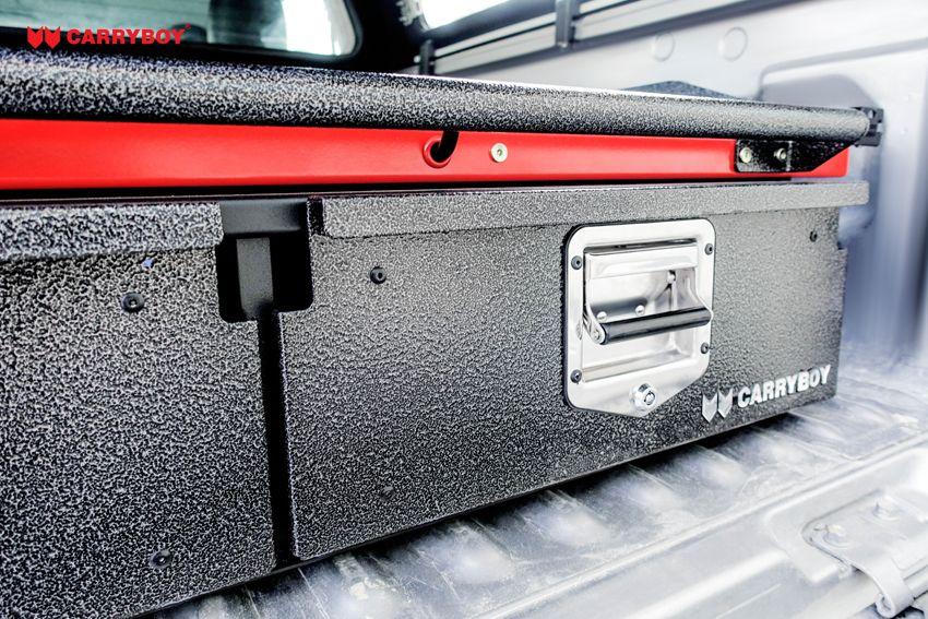 CARRYBOY Ladebodenauszug mit Werkzeugschubladen Kombination CB-800 Größe S Schublade abschließbar